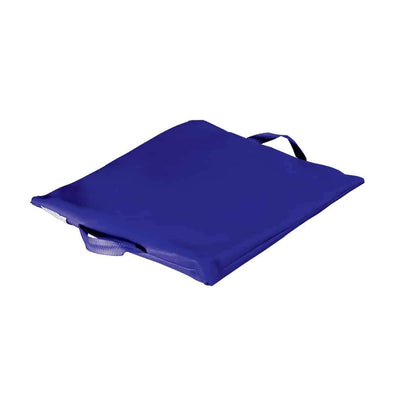 Duro-Med Flotation Cushion with Navy Poly/Cotton Cover - 100%-Gel
