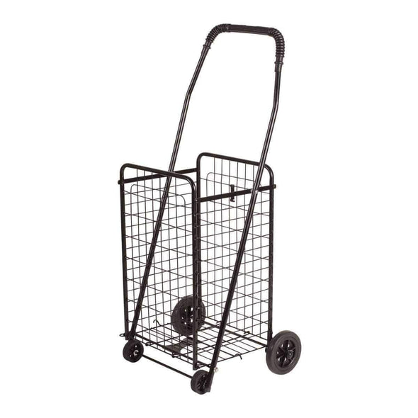 DMI Folding Shopping Cart - Black