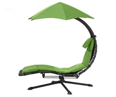 Vivere Original Dream 360 Degree Swivel Chairs with Umbrella Sun Shade - Senior.com Outdoor Chairs