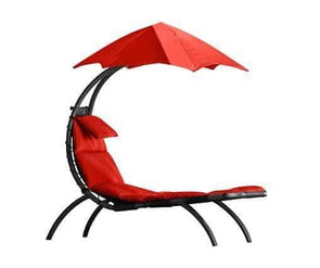Vivere Original Outdoor Dream Lounger with Umbrella Sun Shade