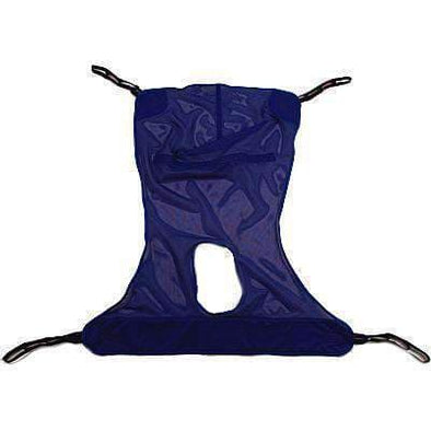 Full Body Mesh Sling with Commode Opening - Extra-Large - Senior.com Transfer Equipment