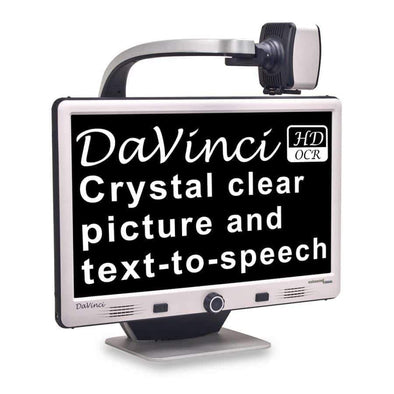 Enhanced Vision DaVinci HD/OCR All-In-One Desktop Magnifier - Senior.com Vision Enhancers