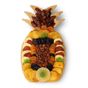 Gourmet Gift Baskets Pineapple Dried Fruit & Nut Platter - Senior.com Gift Baskets