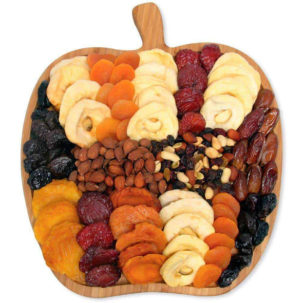 Gourmet Gift Baskets Dried Fruit & Nut Platter - Senior.com Gift Baskets