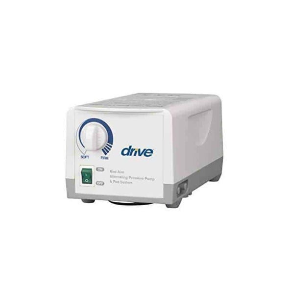 Drive Medical Med Aire Alternating Pressure Pump and Pad System Variable Pressure with End Flaps - Senior.com Support Surfaces