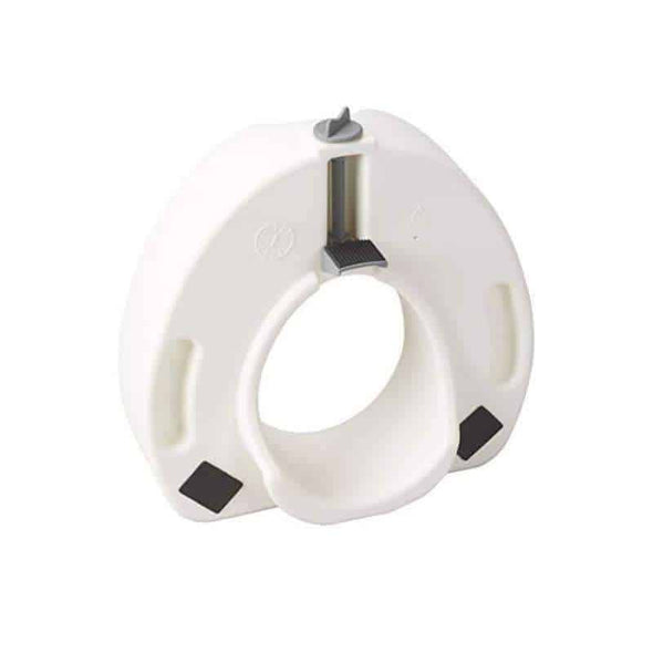 Drive Medical Premium Plastic Raised Toilet Seat with Lock Elongated - Senior.com Raised Toilet Seats