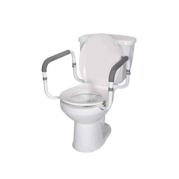 Drive Medical Toilet Safety Rail - Senior.com Grab Bars & Safety Rails