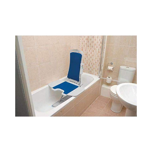 Drive Medical Whisper Ultra Quiet Bath Lift Blue - Senior.com