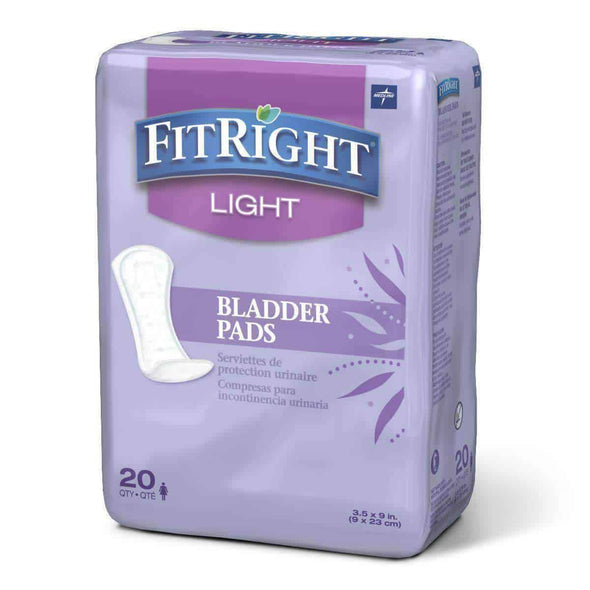 FitRight Bladder Control Pads - Senior.com Incontinence