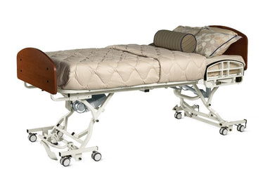 Medline Alterra 1385 Hi-Low Full Electric Long-Term Hospital Beds - Senior.com Bed Packages