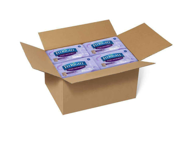 FitRight Ultra Absorbency Underwear for Women - Case of 80 - Senior.com Incontinence