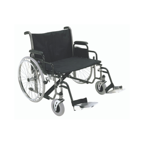 ProBasics Extra-Wide K0007 Bariatric Wheelchair with Swing Away Footrests - 700 lbs Capacity - Senior.com wheel