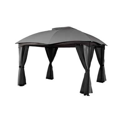 Sojag Phuket Fabric Soft-Top Gazebo Outdoor Sun Shelter - 10' x 12' - Senior.com Gazebo