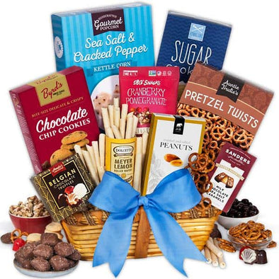 Gourmet Gift Baskets Fathers Day Variety Pack - Large Assortment - Senior.com Gift Baskets