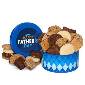 Gourmet Gift Baskets Father's Day Cookie & Brownie Gift Box - Senior.com Gift Baskets