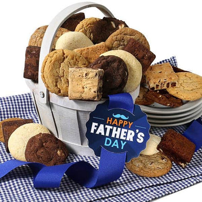 Gourmet Gift Baskets Fathers Day Cookie Basket - Senior.com Gift Baskets