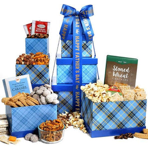 Gourmet Gift Baskets Fathers Day Gift Tower - Senior.com Gift Baskets