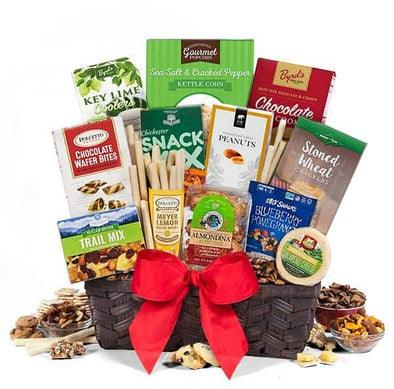 Gourmet Gift Baskets Extra Large Fathers Day Gift Food Assortment - Senior.com Gift Baskets