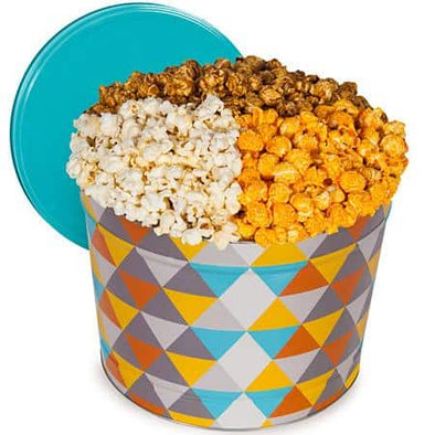 Gourmet Gift Baskets Father's Day Popcorn Tin - Traditional 2 Gallon - Senior.com Gift Baskets