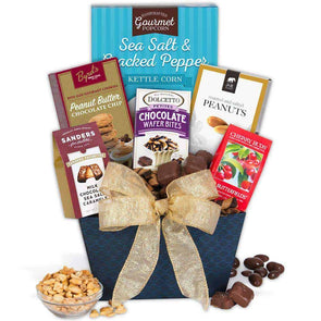 Gourmet Gift Baskets Favorite Treats Gift Basket - Senior.com Gift Baskets