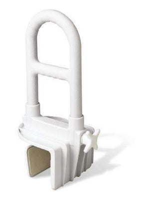 Medline Guardian Bathroom Tub Grab Bar for Fall Prevention - Senior.com Grab Bars & Safety Rails