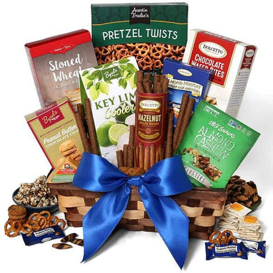Gourmet Gift Baskets Special Gift Basket For Dad - Senior.com Gift Baskets