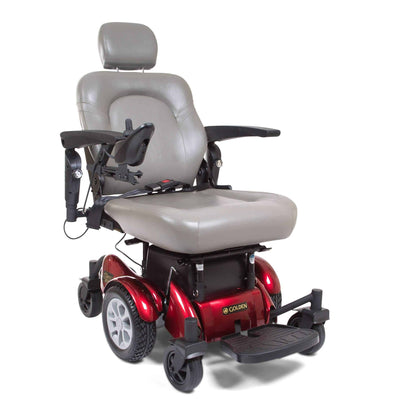 Golden Technologies Compass HD Bariatric Power Chair - Senior.com Power Chairs