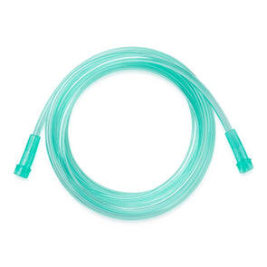 Medline Green Oxygen Tubing with Standard Connector - Crush Resistant - Senior.com Oxygen Tubing