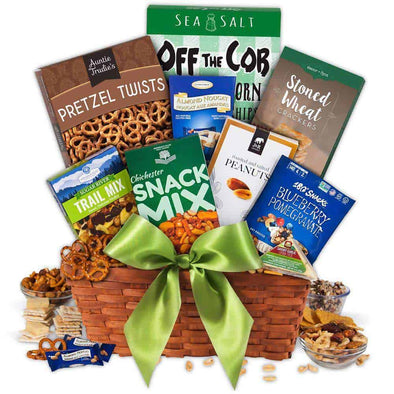 Gourmet Gift Baskets Healthy Gift Basket - Classic - Senior.com Gift Baskets