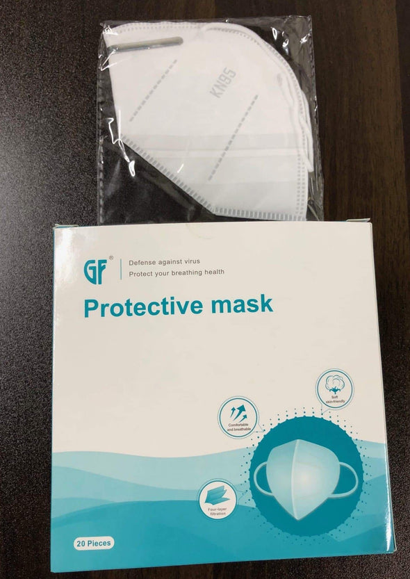 GF Disposable Protective KN95 Face Masks with 4 Layer Filtration - Senior.com Facial Masks