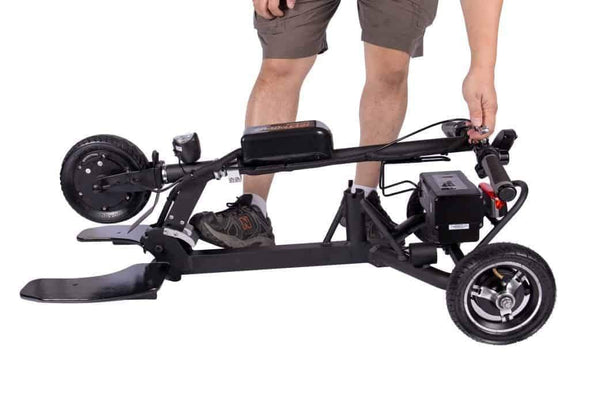 Glion SNAPnGo Electric Portable Lightweight Mobility Scooter - Airline Approved - Senior.com Scooters