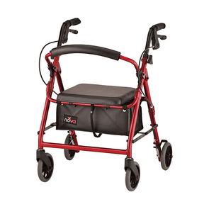 "Nova Medical GetGo Junior Folding Lightweight Rollators with 6"" Wheels - Senior.com Rollators"