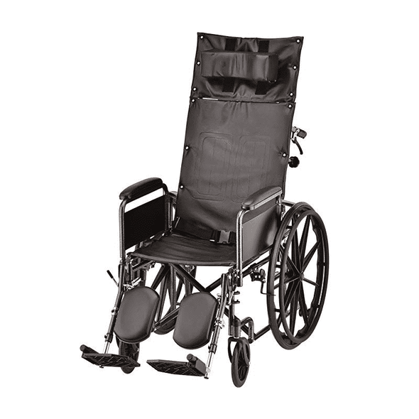 Nova Medical Reclining Wheelchair with Full Arms & Elevating Leg Rests - Senior.com Wheelchairs