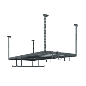 New Age Products ersaRac Set with 1 Overhead Rack and 6 Piece Accessory Kit