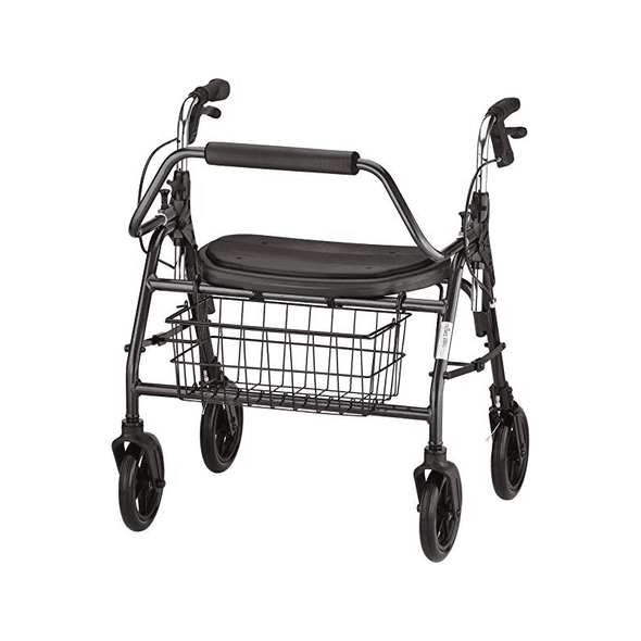 Nova Medical Mighty Mack Heavy Duty Bariatric Rollators - 500 lb Weight Capacity - Senior.com Rollators