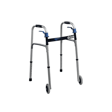Drive Medical Trigger Release Folding Walker - Senior.com Walkers