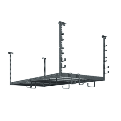 New Age Products VersaRac Set with 1 Overhead Rack and 20 Piece Accessory Kit