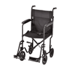 "Nova Medical Lightweight Steel 19"" Folding Transport Chairs - Senior.com Transport Chairs"