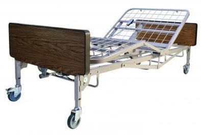 Lumex Full-Electric Bariatric Bed - 600 Lb Weight Capacity - Senior.com Bariatric Bed Packages