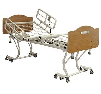 Joerns Healthcare Care100 Full Electric Low Bed Frame