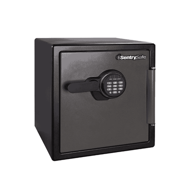 SentrySafe Extra Large Electronic Lock Fire and Water Resistant Safe - 1.23 Cubic Feet - Senior.com Fires Safes