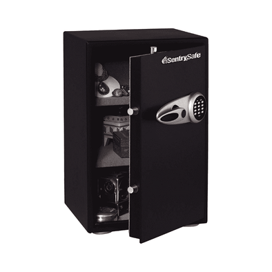 SentrySafe Fire & Water Resistant Safe with Electronic Keypad and Interior Organizer