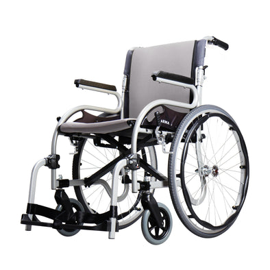 Karman Healthcare Star 2 Ultralight Folding Manual Wheelchair - Senior.com Wheelchairs
