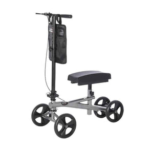 "Lifestyle Mobility Aids Premium Bariatric Folding Knee Walker with 8"" Wheels - Senior.com Knee Walkers"