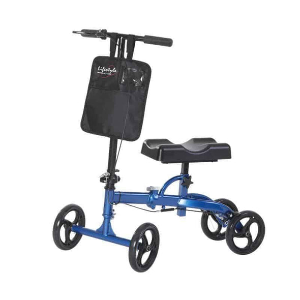 Lifestyle Mobility Aids Compact Portable Folding Travel Knee Walkers - Senior.com Knee Walkers