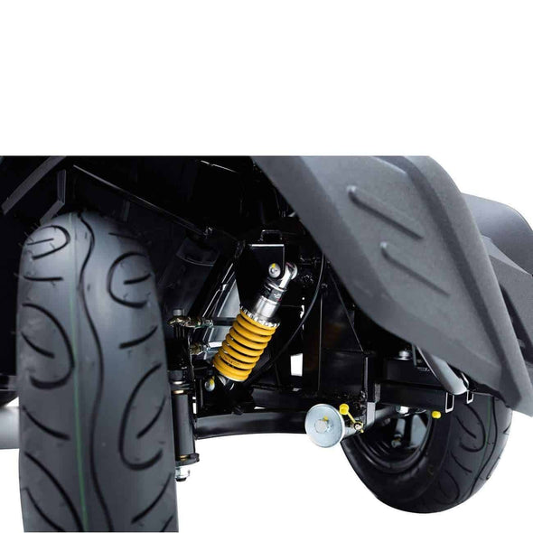 Drive Medical King Cobra Bariatric Executive Power Scooter - 22 Inch Captain Seat - Senior.com Scooters