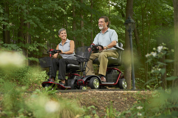 Golden Technologies LiteRider – Lightweight 4 Wheels Travel Scooter - Senior.com Scooter