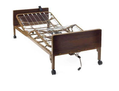 Medline Basic Full-Electric Light Bed Frame Only - Senior.com Bed Packages