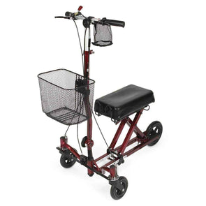 Medline Generation 2 Weil Knee Walker - Burgundy MDS86000G2