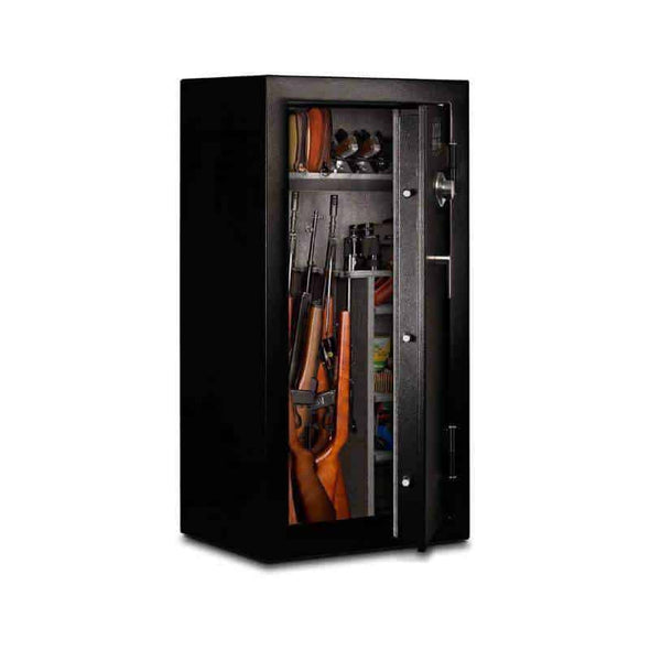 Mesa Safe 30-Minute Fire and Gun Safe with Combination Lock - 24 Gun Cap - 12 CF - Senior.com Security Safes